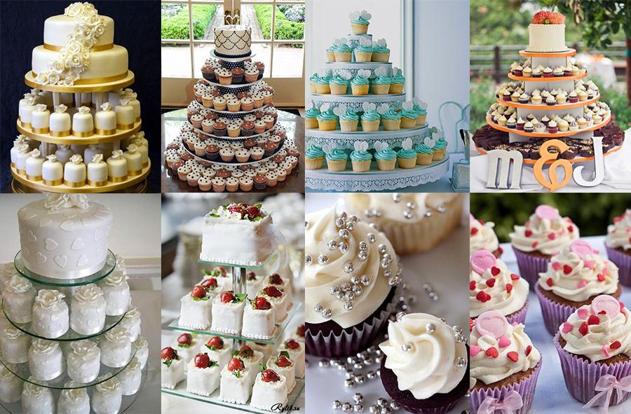 Пирожное на свадьбу