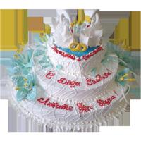 Лебеди из крема. Украшение торта Тонины тортики 96