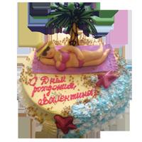 торт к отпуску рецепт с фото объем
